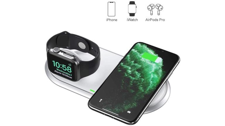 Cette station recharge sans fil notre iPhone, Apple Watch et AirPods
