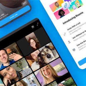 Facebook lance Messenger Rooms pour faire concurrence à Zoom