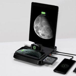 iPhone, iPad, AirPods, Apple Watch, rechargez tout avec cette base