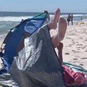 Tout le monde rêverait d'aller à la plage… sauf eux!