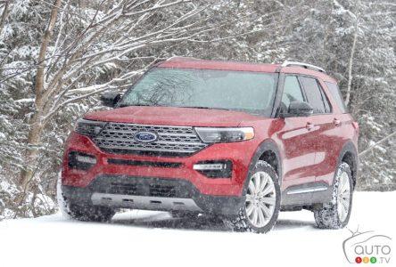 Essai du Ford Explorer hybride 2021 : rien de convaincant