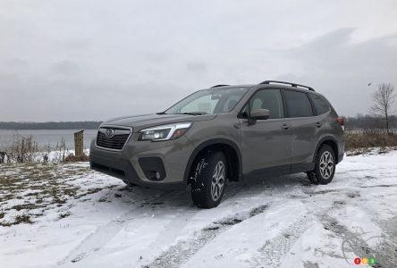 Essai à long terme du Subaru Forester 2021, partie 2 : bouton et ronron