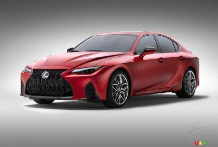 Lexus présente l'IS 500 F Sport Performance pour 2022