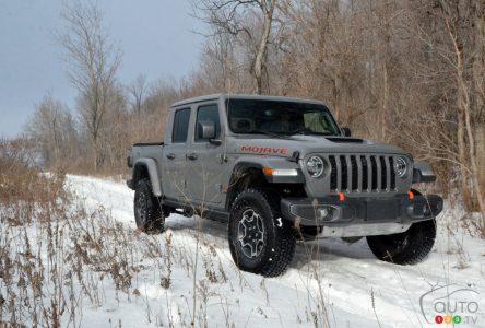 Essai du Jeep Gladiator Mojave 2021 : une solution de rechange au Rubicon?