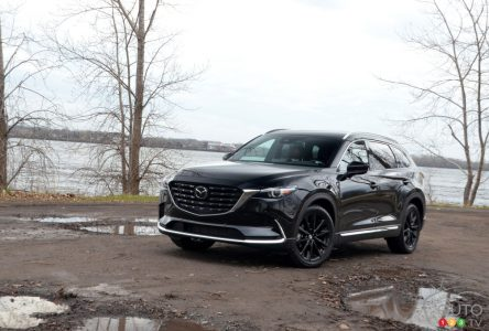 Essai du Mazda CX-9 Kuro 2021 : un VUS qui vieillit bien… presque partout