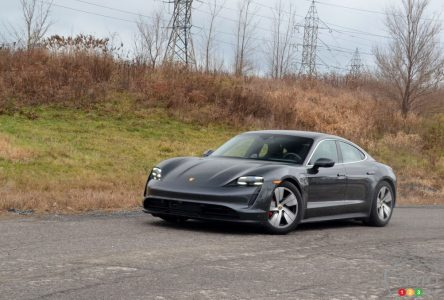 Essai (pas trop) hivernal de la Porsche Taycan 4S 2020