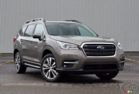 Essai du Subaru Ascent 2021 : pas de doute, c'est un Subaru !