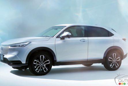 La prochaine génération du Honda HR-V se montre le bout du nez