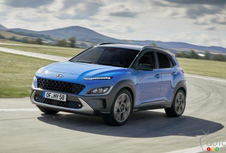 Une nouvelle transmission et un turbo plus puissant pour le Hyundai Kona 2022