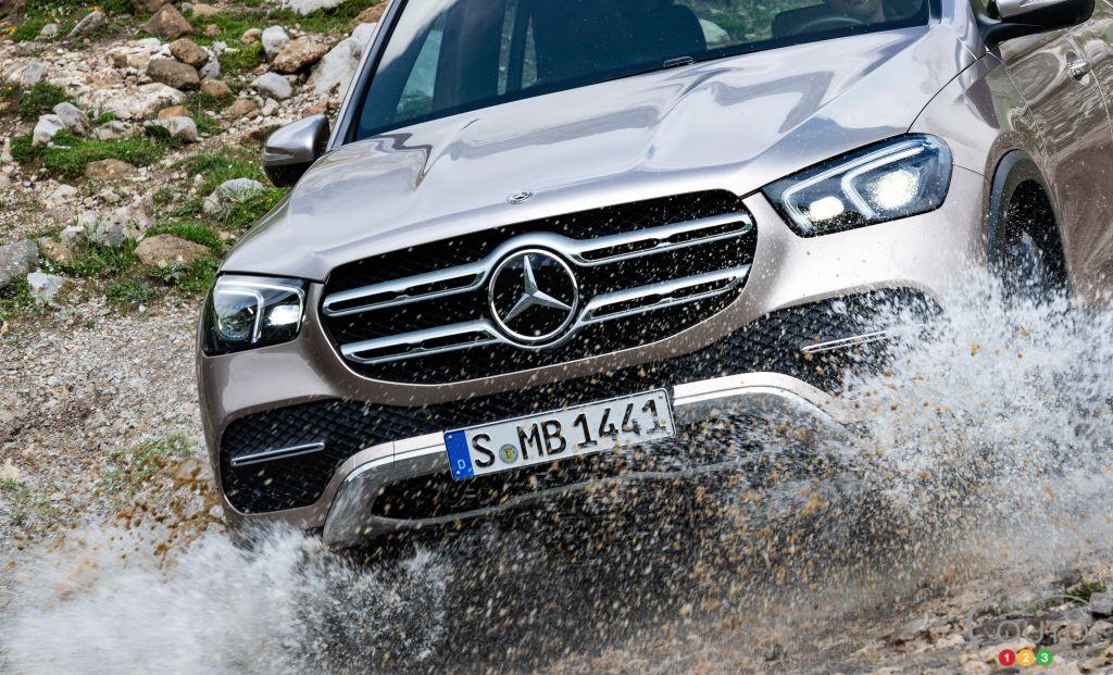 Mercedes-Benz rappelle 1,3 million de véhicules