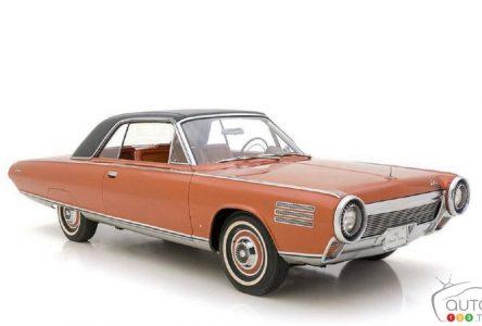 Une Chrysler Turbine 1963 est à vendre