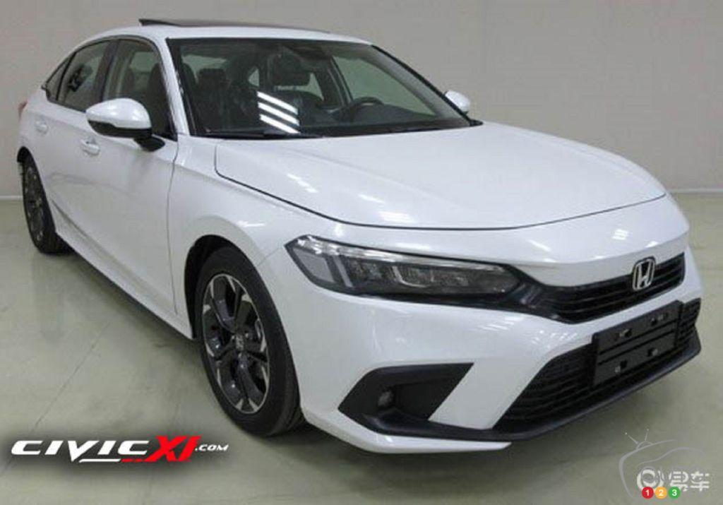 Des images de la Honda Civic 2022 apparaîssent sur le Net