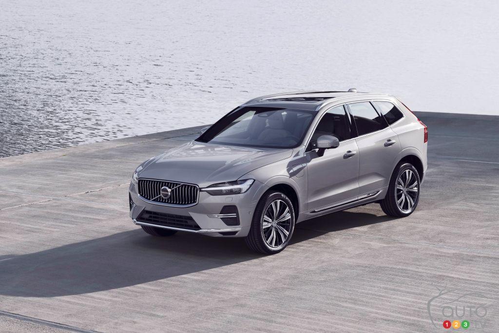 Volvo rafraîchit le XC60 pour 2022