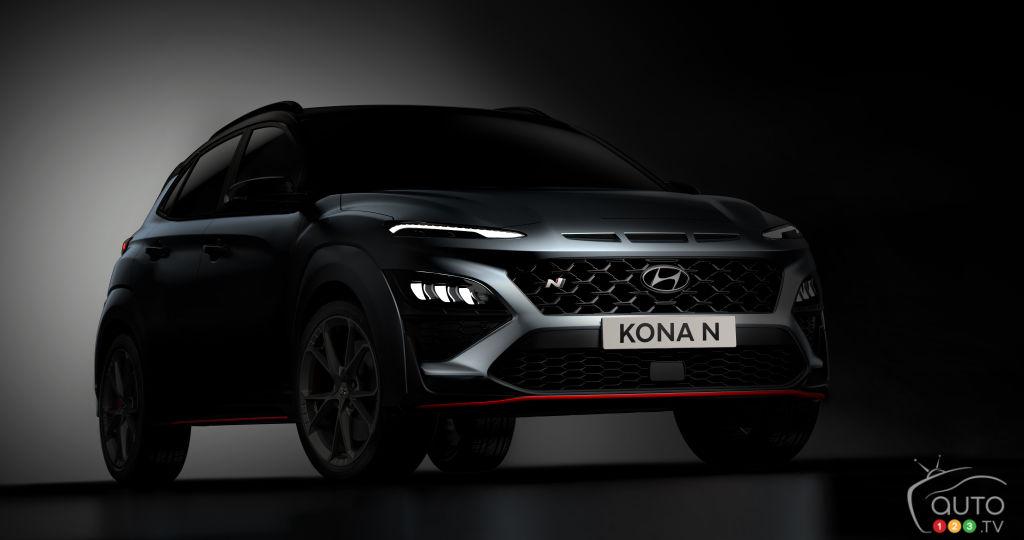 Hyundai donne un aperçu de son Kona N