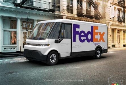 Uniquement des livraisons électriques pour FedEx en 2040