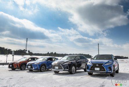 Conduite Lexus hivernale : journée de glace et journée de glisse