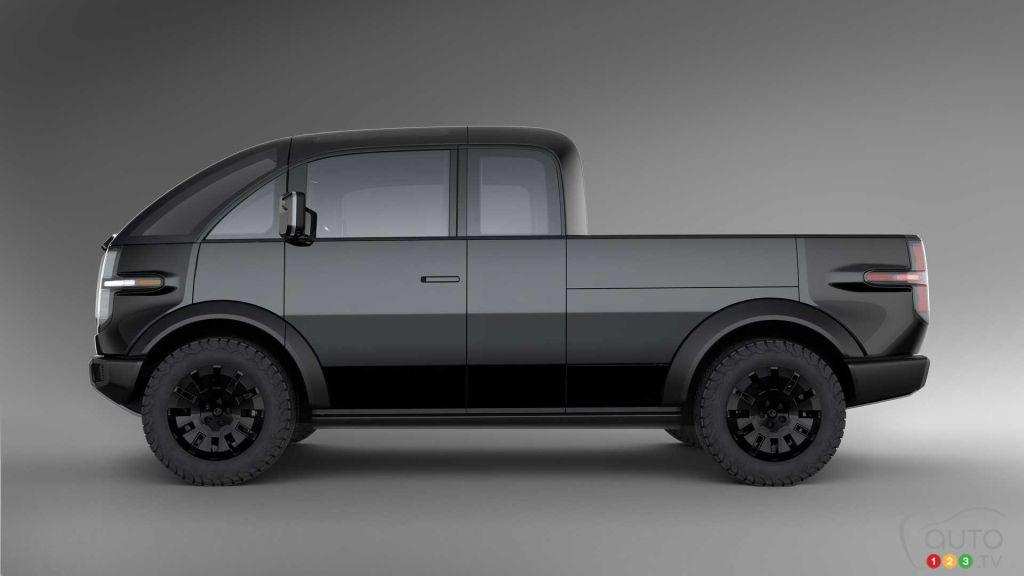 Canoo : une autre camionnette électrique se pointe à l'horizon