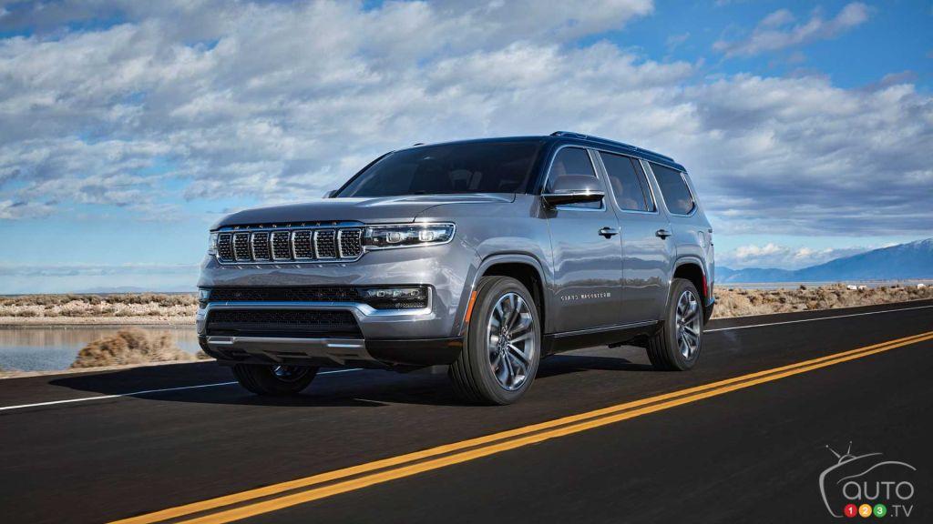 Le Jeep Grand Wagoneer 2022 fait son entrée