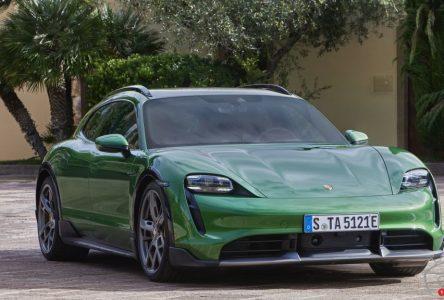 Porsche envisage d'autres variantes de la Taycan, y compris une version cabriolet à deux portes